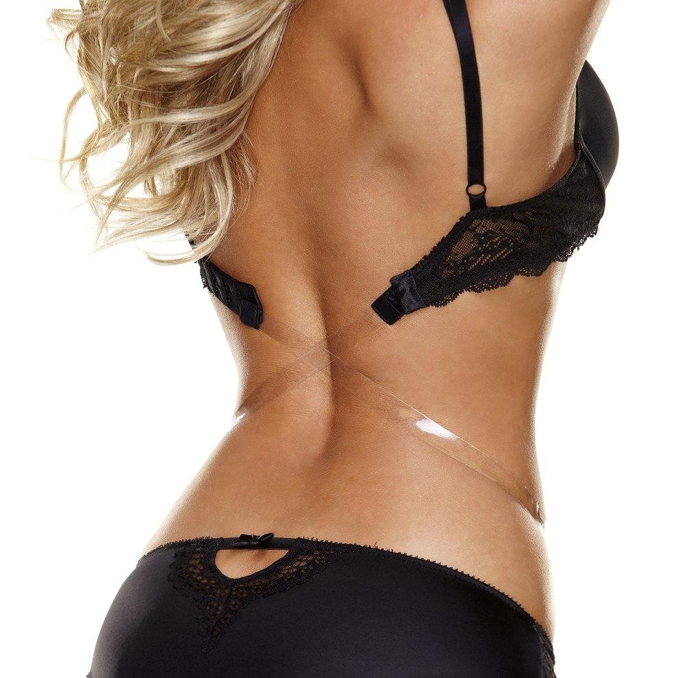 The Down Low Bra Strap Converter - Black