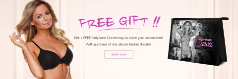 Get a free Hollywood Curves bag to store your accessories!
